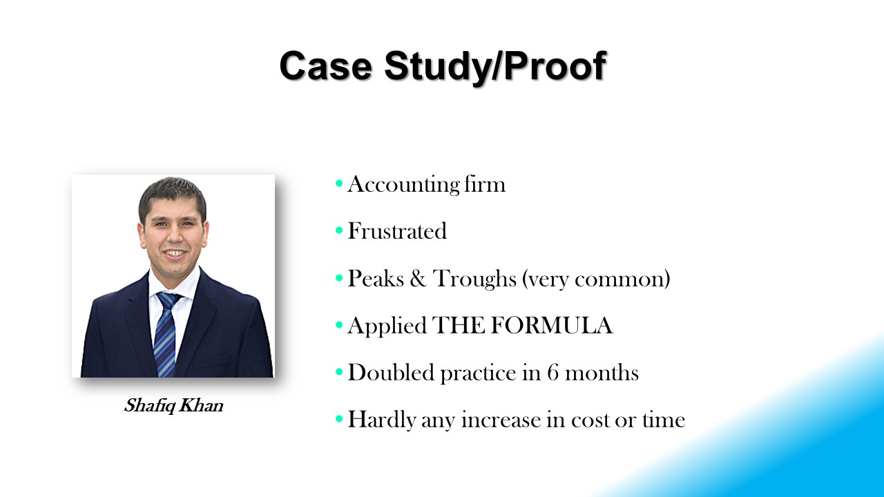 Slide #1 Accountant-The Formula